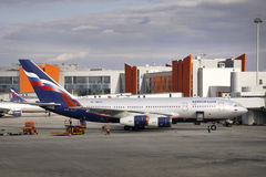 Russian Airlines Stock Images