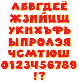 Russian alphabet Royalty Free Stock Photos