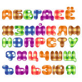 Russian alphabet Royalty Free Stock Photo