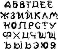 Russian alphabet Royalty Free Stock Image