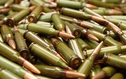 Russian ammo Stock Images