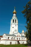 Russian ancient bell tower Stock Image