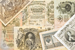 Russian ancient money Stock Images