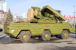 Russian anti-aircraft missile system Stock Image