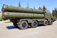 Russian antiaircraft complex S-300 Royalty Free Stock Image