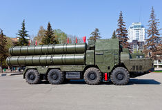 Russian antiaircraft complex S-300 Royalty Free Stock Photos