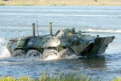 Russian APC BTR-80. Royalty Free Stock Photos