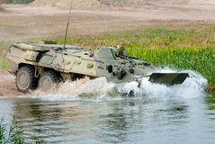 Russian APC BTR-80. Royalty Free Stock Image