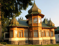 Russian architecture house Royalty Free Stock Image