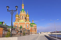 Russian architecture and traditions Yoshkar-Ola Russia. Stock Photography