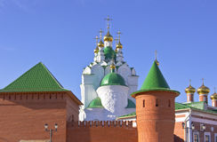 Russian architecture and traditions Yoshkar-Ola Russia. Stock Images
