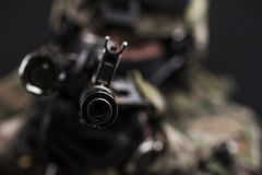 Russian armed forces Stock Photography