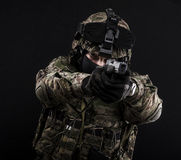 Russian armed forces Royalty Free Stock Photo