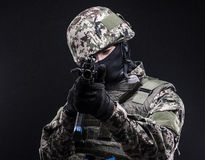 Russian armed forces Royalty Free Stock Photography