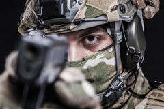 Russian armed forces Stock Image