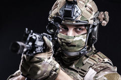 Russian armed forces Royalty Free Stock Image