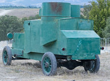 Russian armored car Stock Photography