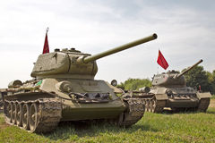 Russian armour Royalty Free Stock Photo