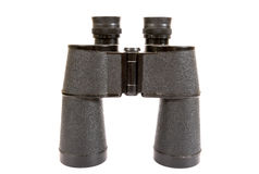 Russian army field binocular. On white background Stock Image