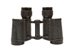 Russian army field binocular. On white background Stock Images