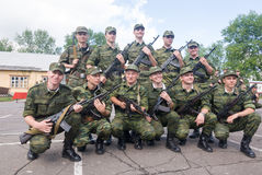Russian army Stock Photography