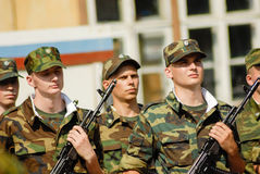 Russian army Stock Image