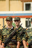 Russian army scene Stock Photo