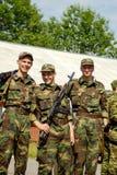 Russian army scene Royalty Free Stock Photos