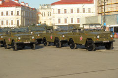 Russian army vehicle UAZ Royalty Free Stock Photo