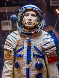 Russian astronaut spacesuit in space museum Royalty Free Stock Image