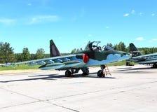 Russian attack aircraft Royalty Free Stock Photo