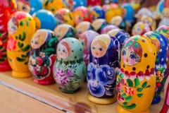 Russian Babushka Dolls Royalty Free Stock Photo
