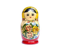 Russian babushka nesting dolls Royalty Free Stock Photo
