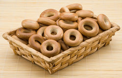 Russian bagels Stock Images