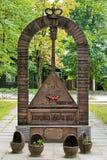 Russian Balalaika Monument in Bezhetsk Royalty Free Stock Photo