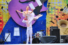 Russian  Ballet Stock Photo