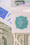 Russian banknotes Royalty Free Stock Images