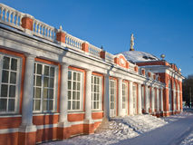 Russian barton house. On winter day Stock Images