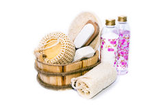 Russian baths accessories Royalty Free Stock Images