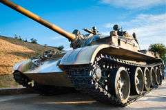 Russian battle tank Royalty Free Stock Images