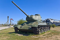 Russian battle tank Royalty Free Stock Image