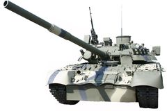 Russian battle tank T-80 Stock Image