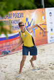 Russian beach tennis championship 2015 Royalty Free Stock Photos