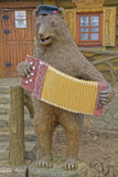 Russian bear in magnificent manor house - Village Shuvalovka Royalty Free Stock Image
