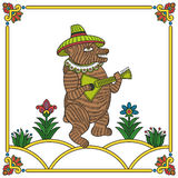 Russian bear 01 Stock Photo