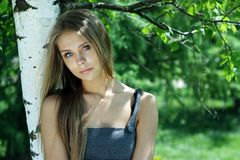 Russian beauty Royalty Free Stock Photo