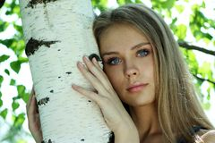 Russian beauty Royalty Free Stock Images