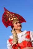Russian beauty Royalty Free Stock Image