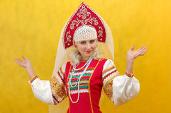 Russian beauty Stock Images