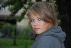Russian beauty Stock Photo